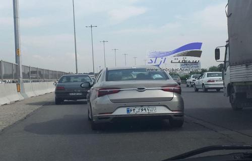 آریزو 6 در خیابانهای تهران رویت شد+عکس