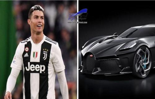 رونالدو مالک گران ترین خودرو تاریخ، بوگاتی La Voiture Noire نه و نیم میلیون پوندی!