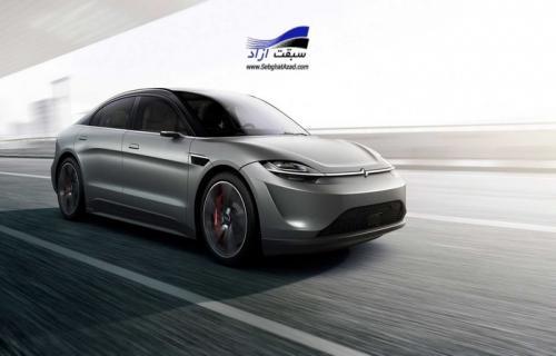 سونی با رونمایی از خودرو الکتریکی ویژن اس خودروساز شد