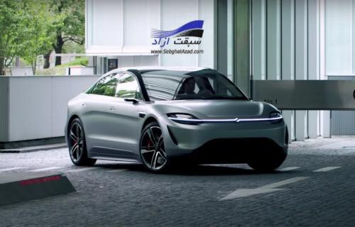 کمپانی سونی با معرفی خودروی ویژن اس به جمع خودروسازان پیوست