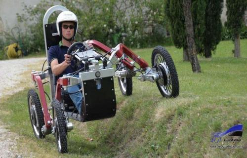 خودروی چهارچرخ عنکبوتی