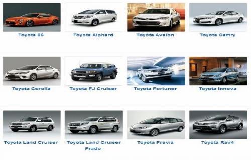 تویوتا پرفروشترین خودروساز در 49 کشور دنیا + اینفوگرافی