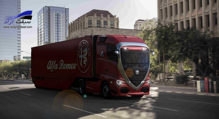 کامیون آلفا رومئو