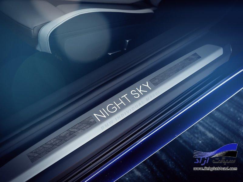 بی ام و M850i Night Sky