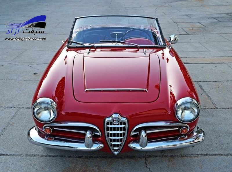 Alfa Romeo Giulia Spider Veloce 1962-65