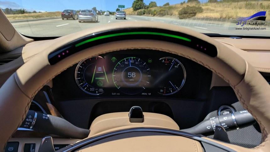 سوپرکروز سیستم رانندگی هوشمند کادیلاک