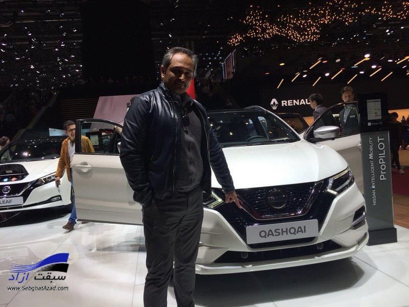پارسیان در نمایشگاه خودرو ژنو 2019