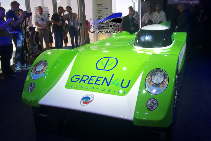 خودرو مسابقهای الکتریکی Panoz Green4U