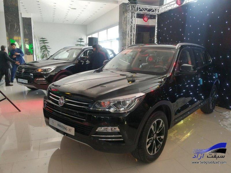 بازدید مشتریان عظیم خودرو از خط تولید هنتنگ