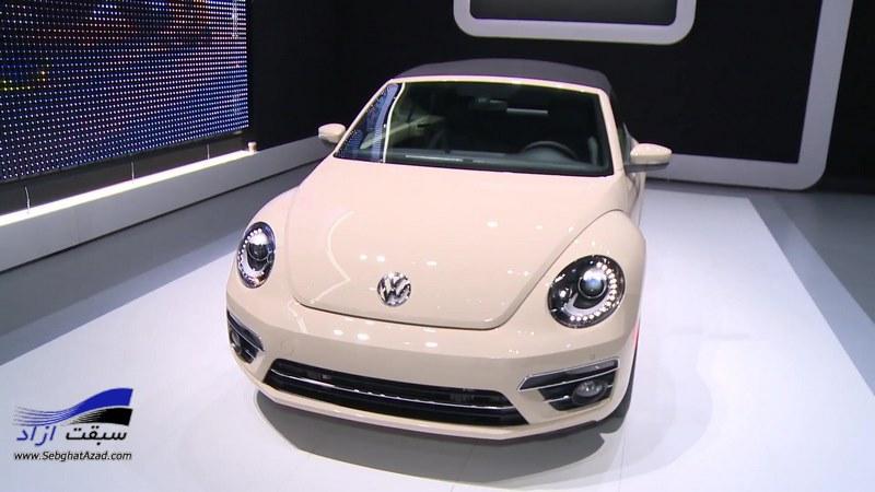 فولکس واگن بیتل در نمایشگاه خودرو لس آنجلس رونمایی شد