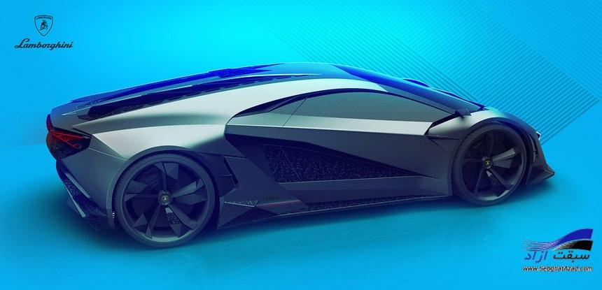 لامبورگینی ترونو، خودرویی که در سال ۲۹۹۹ ساخته خواهد شد!