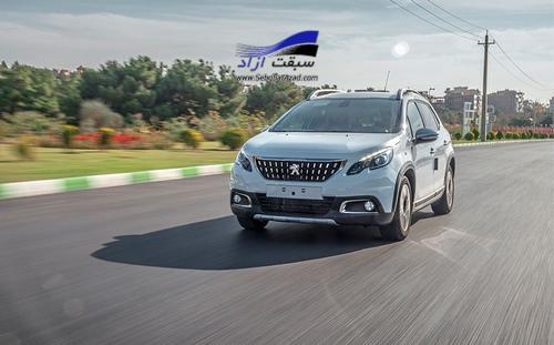 ایران خودرو انجام تعهدات معوق پژو 2008 در روزهای آینده