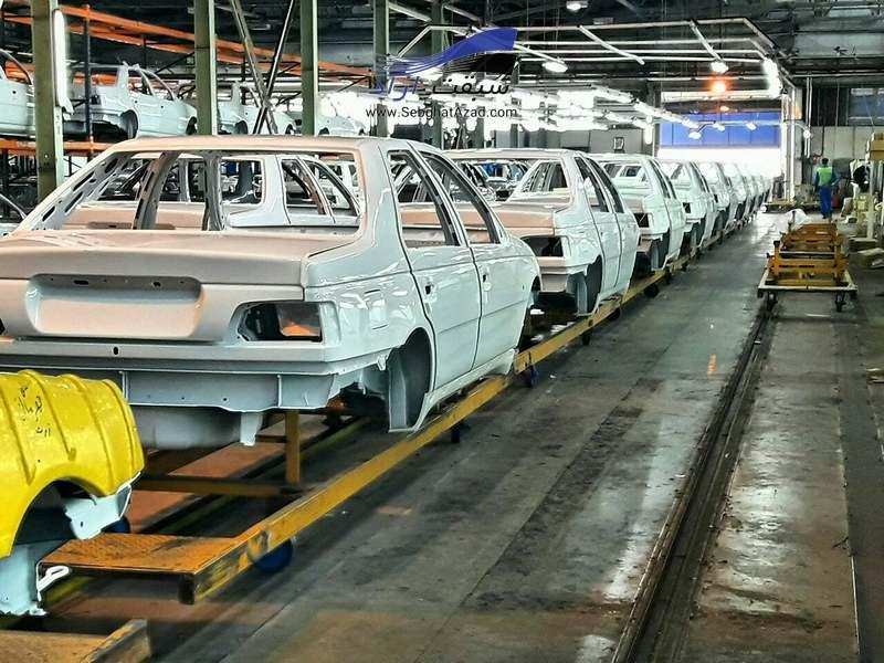 تولید خودرو کاهشی شد