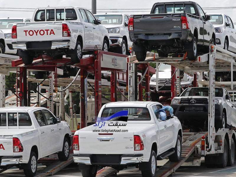 واردات خودرو مشروط می شود