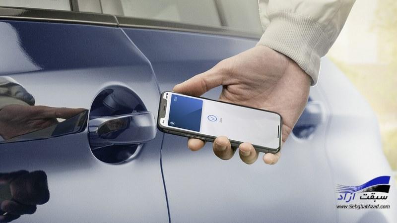 کلید دیجیتال اپل برای اتومبیلها معرفی شد