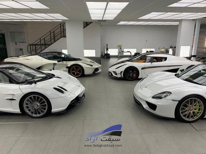 سفید محبوب ترین رنگ خودرو