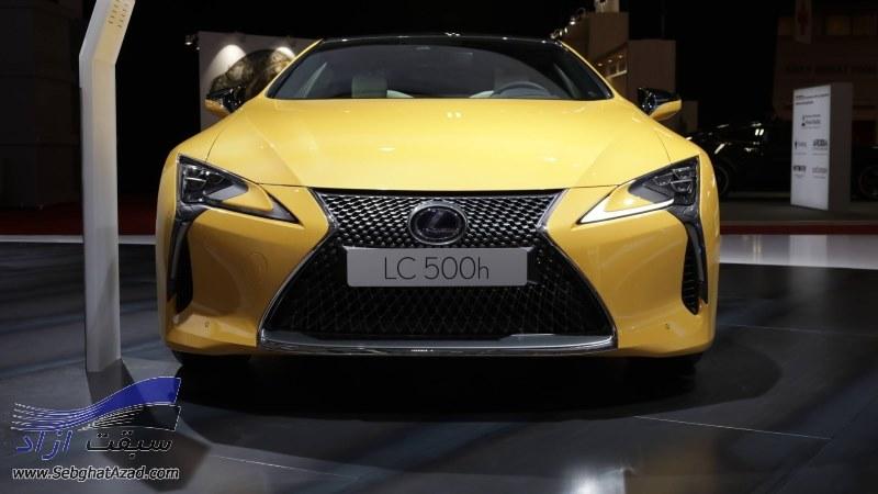 لکسوس LC500 Yellow Edition