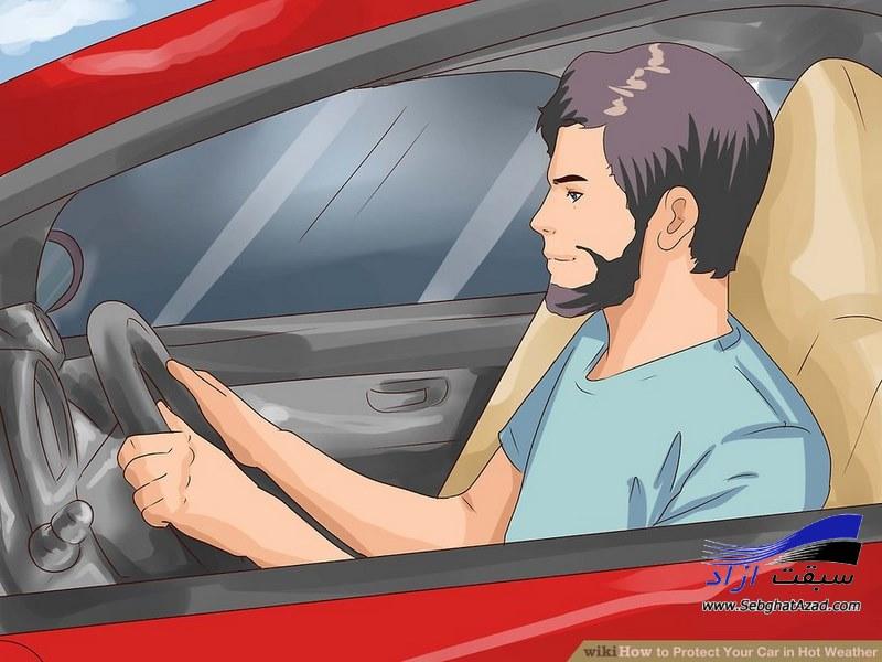 مراقبت از خودرو در گرما