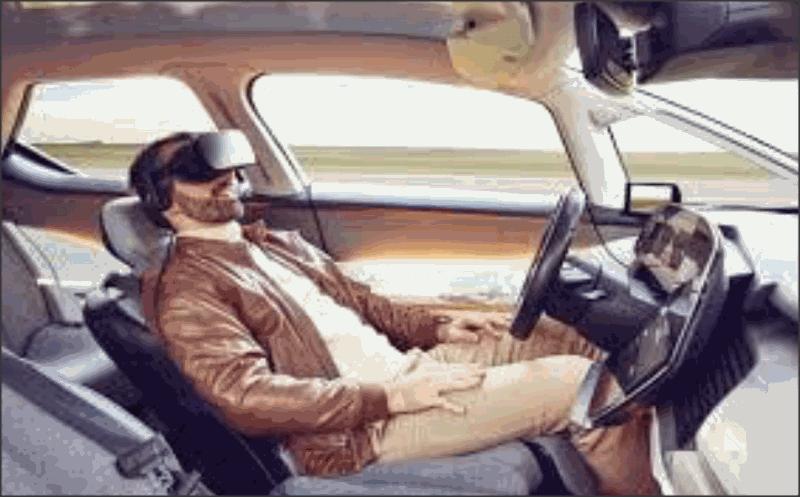 رنو سیمبیوز - خودروی خودران