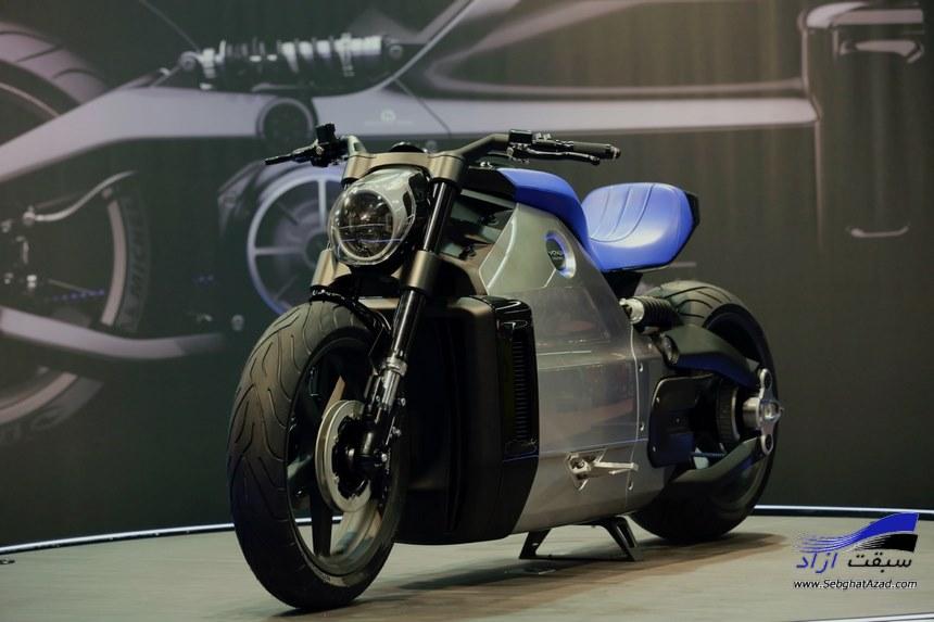 تولید سریع ترین موتورسیکلت برقی جهان