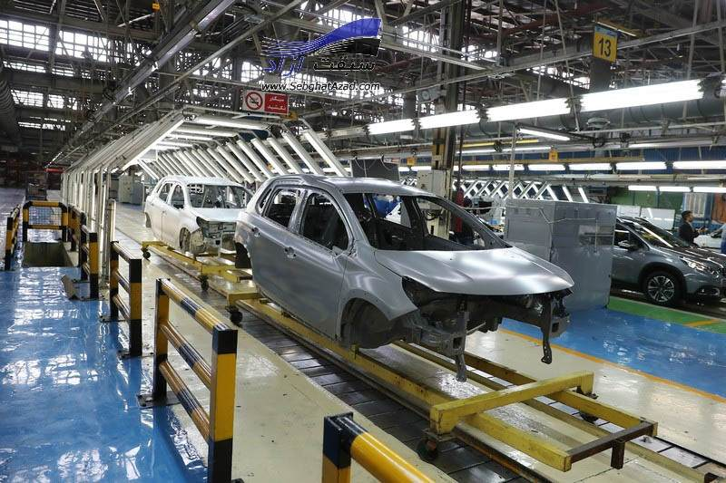 تعداد خودروهای خوابیده در کف کارخانهها به 70 هزار دستگاه رسید