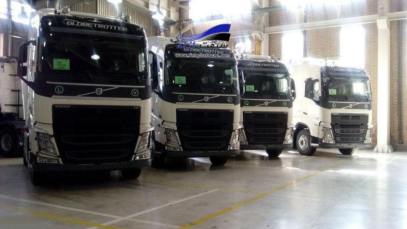 شرکت ولوو مونتاژ کامیون در ایران را متوقف کرد