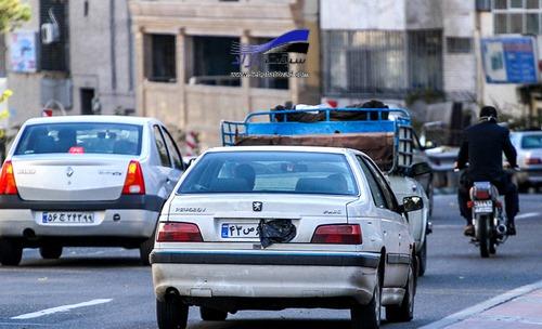 توقیف 3 هزار خودرو پلاک مخدوش در تهران