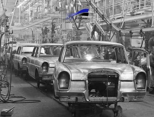 بازگشت به کارخانه بنز در دهه 60 میلادی