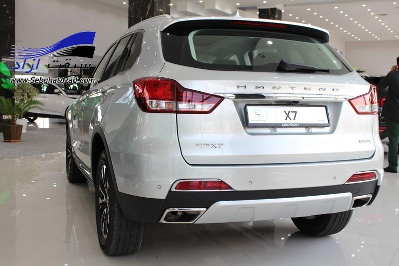 اعلام قیمت هنتنگ X5 و X7 از سوی عظیم خودرو