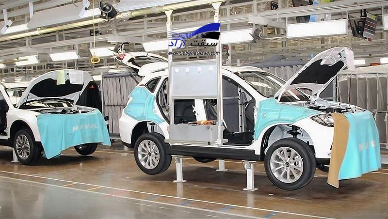 کاهش 25 درصدی تولید خودرو در 9 ماهه امسال