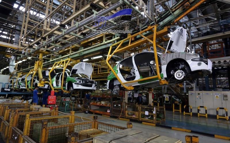 تولید خودرو تا پایان تیرماه به بیش از ۴۳۶ هزار دستگاه رسید