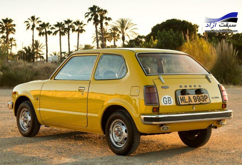 هوندا سیویک مدل 1972