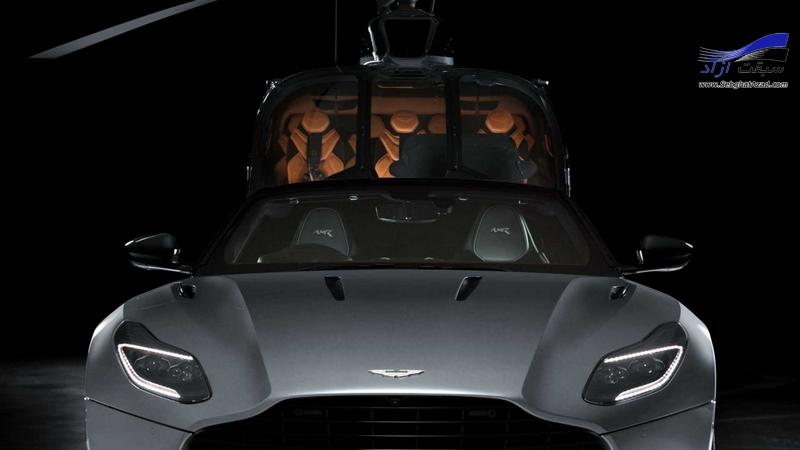 همکاری استون مارتین با ایرباس برای تولید هلیکوپتر