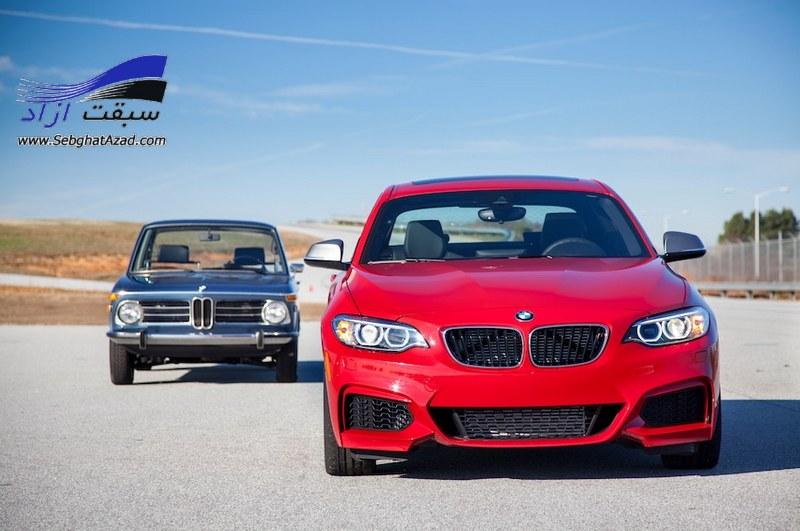 مقایسه بی ام و 2002tii مدل 1972 و بی ام و M235i مدل 2014