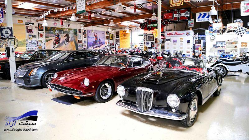 معروفترین کلکسیونرهای خودرو در دنیا