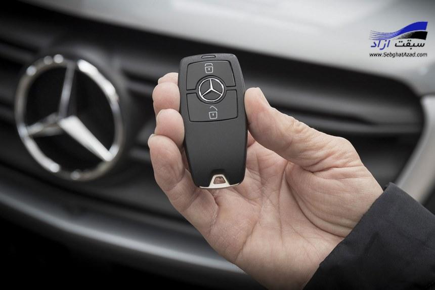سیستم ورود و خروج بدون کلید در خودرو