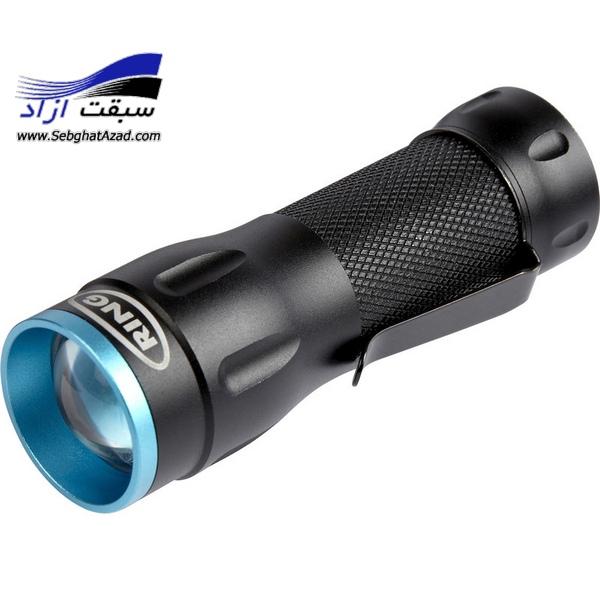 چراغ قوه شارژی Ring Zoom 300 LED RIT1050