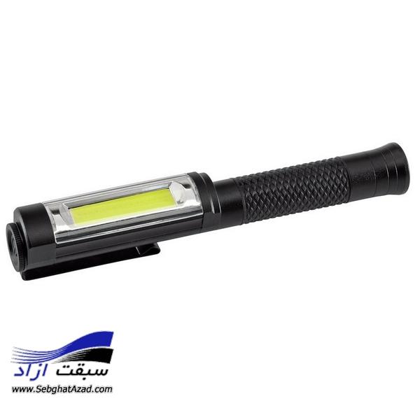 چراغ قوه آلومینیومی شارژی Draper 5W COB WorkLight 90101