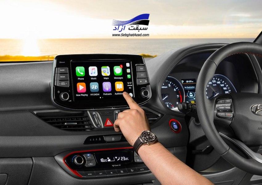 سیستم اطلاعات و سرگرمی همزمان در خودرو  Infotainment