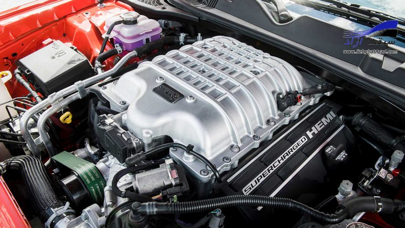 دوج چلنجر SRT سوپر استاک مدل 2020