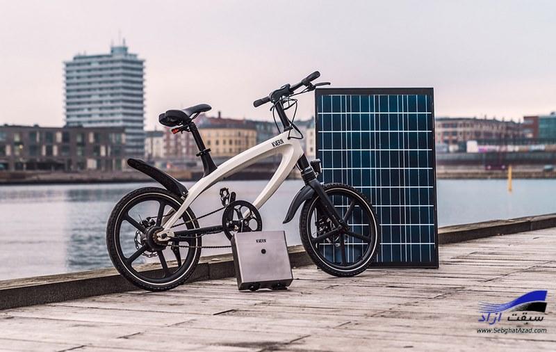 دوچرخه الکتریکی دانمارکی Kvaern با اقتباس از BMX