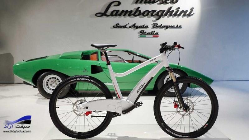 دوچرخه الکتریکی لامبورگینی