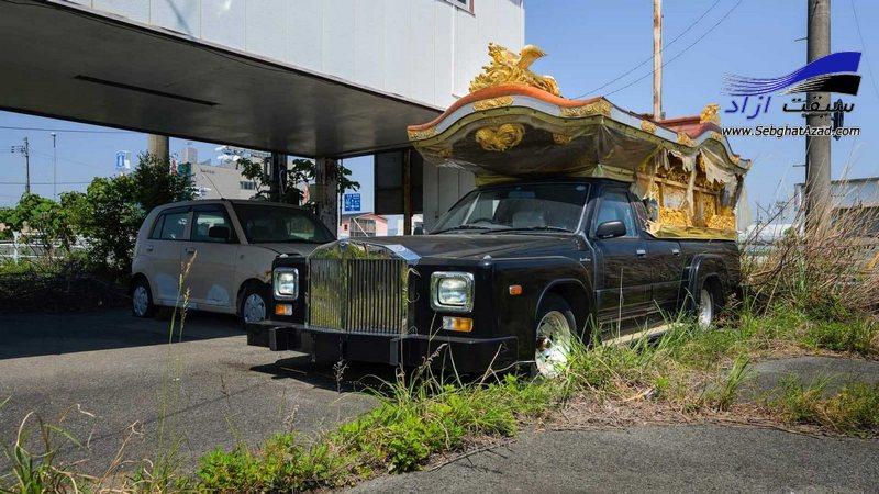 حادثه اتمی فوکوشیما و نمایشگاه متروکه خودروهای کلاسیک ارزشمند