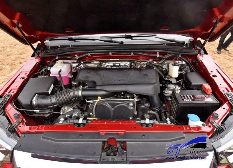 جک T8 محصول جدید کرمان موتور چه مشخصاتی دارد