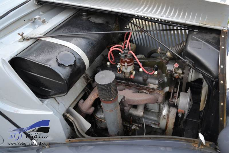 مرسدس بنز کلاسیک 170V با اتاق W136