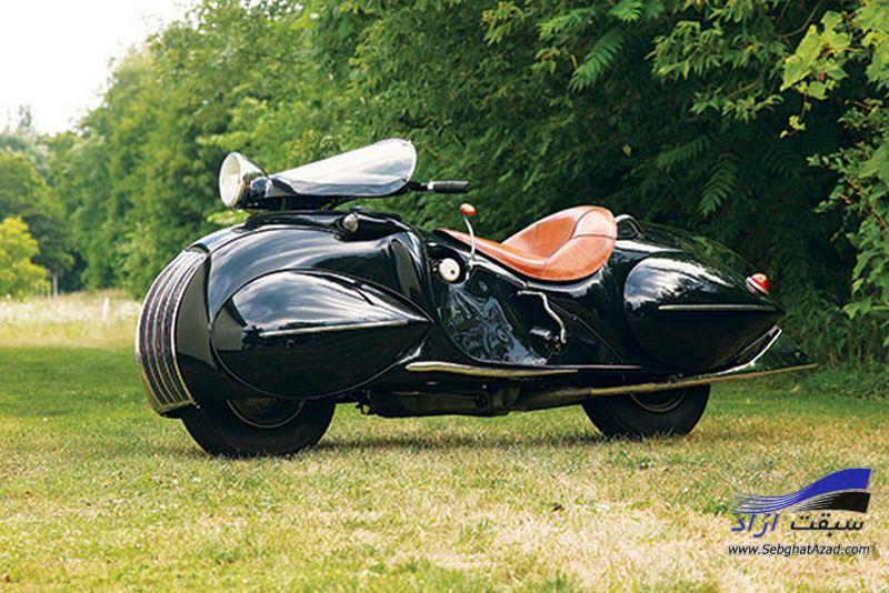 موتورسیکلت بی ام و با طرح وسپا معرفی شد