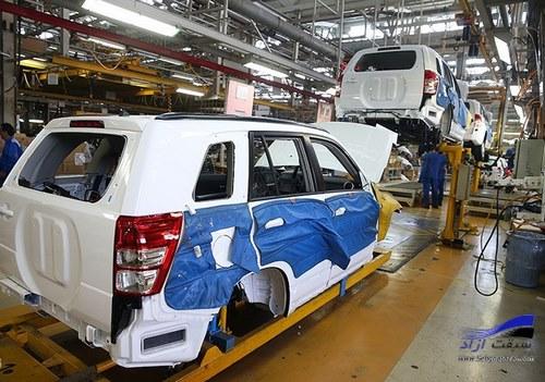 حذف شدن 20 محصول از خودروسازی کشور