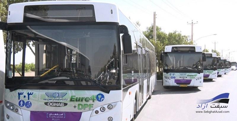 راه اندازی اولین خط اتوبوس های فول الکتریک در تهران