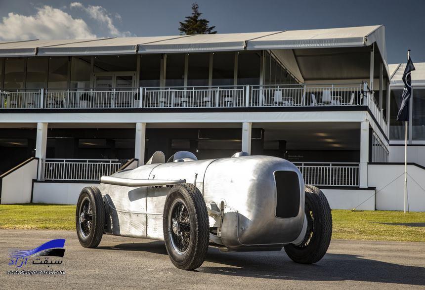 بنز خودروی ۱۹۳۲ خود را بازسازی کرد