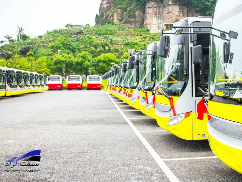 جزئیات رزرو صندلی اتوبوس دربستی در تهران